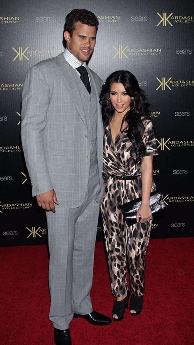 画像: キムはNBA選手のクリスと結婚してわずか72日で離婚を申請した。