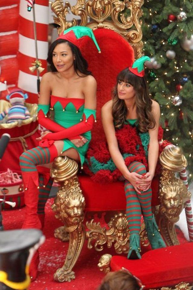 画像: 2013年のクリスマス・スペシャルの撮影風景。この頃にはもうかなり仲が悪かったとは…。