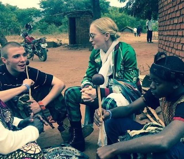 画像: 7月にアフリカにて。