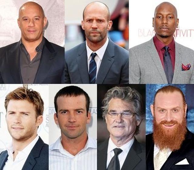 画像: 映画の男性キャストたち。