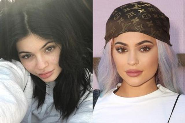 画像: いつもは大人っぽいけど、ノーメイクだと18歳の年齢相応に見える! Ⓒ Kylie Jenner