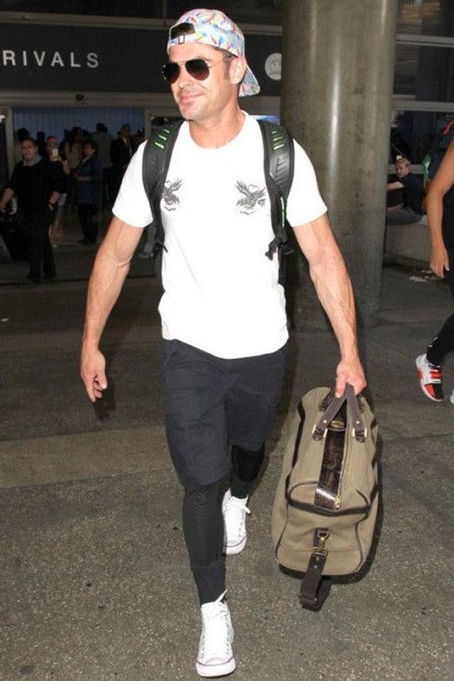 画像: 8月8日に日本を出国してLAに戻ったザック。