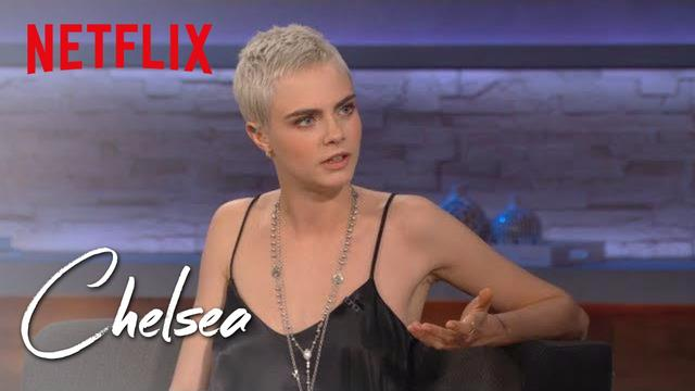画像: Cara Delevingne (Full Interview) | Chelsea | Netflix www.youtube.com