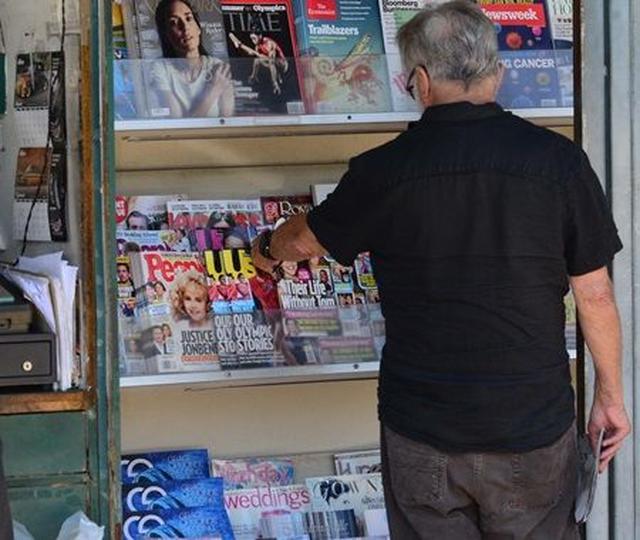 画像1: オスカー俳優ダスティン・ホフマンがゴシップ誌で読んでいた記事は