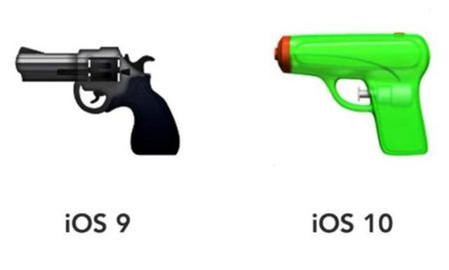 画像: 絵文字で銃規制をアピール