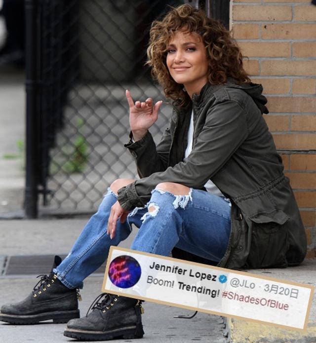 画像: ジェニファーが公式ツイッターでドラマのトレンド入りを報告。
