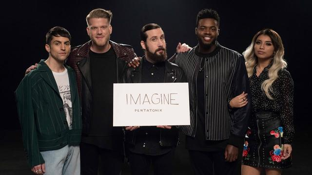 画像: [OFFICIAL VIDEO] Imagine - Pentatonix youtu.be
