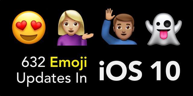 画像: 632 Emoji Updates in iOS 10 youtu.be