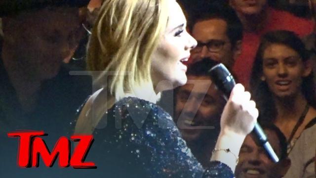 画像: Adele -- Send My Love to Brangelina | TMZ youtu.be