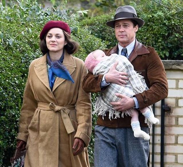 画像: 全米で11月に公開予定のロマンチックスリラー映画『マリアンヌ』でブラッドと共演。それが原因で、不倫騒動に巻き込まれている。