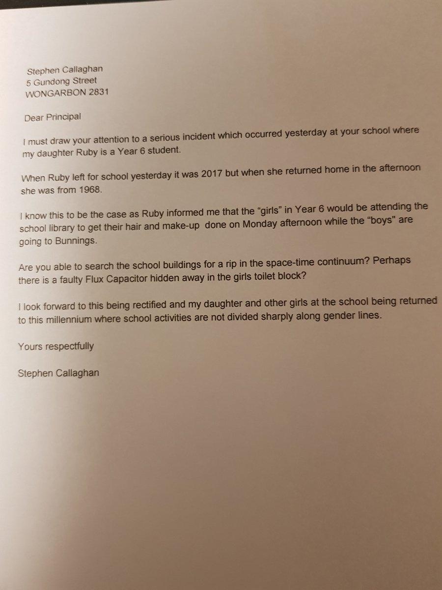 画像: スティーブンが公開した実際の手紙。©Grumplestiltskin /Twitter