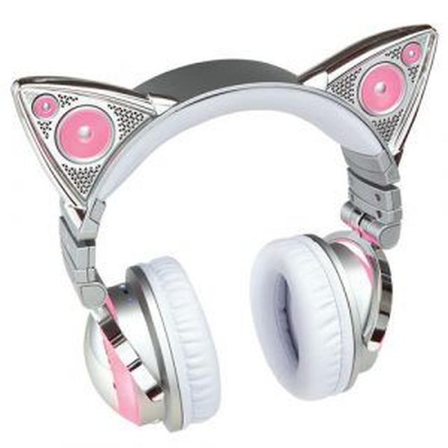 画像2: アリアナ・グランデがキュートな猫耳つきヘッドホンを発売!