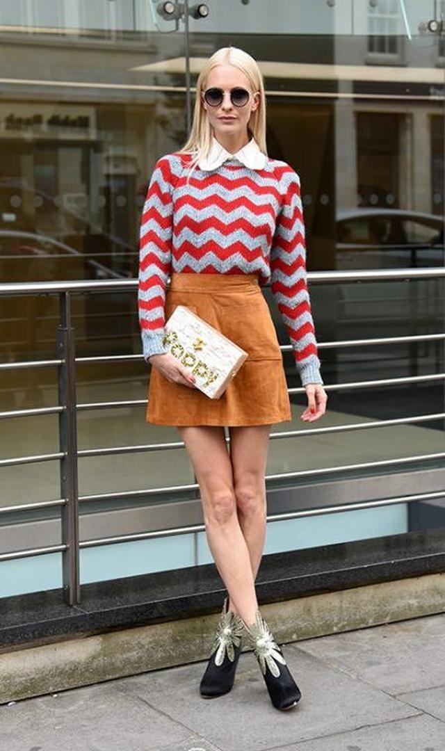 画像: ロンドン・ファッションウィークに駆けつけたセレブたちの着こなしをチェック!