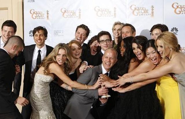 画像: 『グリー』は2010年にゴールデン・グローブ賞でミュージカル・コメディ部門の最優秀TVシリーズ賞を受賞して。