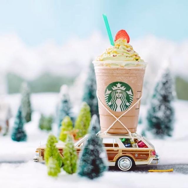 画像1: Instagram投稿の投稿者: Starbucks Frappuccinoさん 日時: 2017 12月 7 3:05午後 UTC www.instagram.com