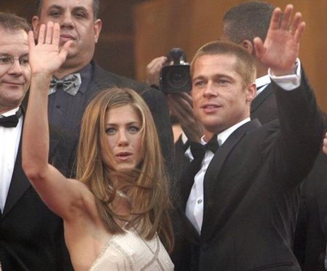 画像: ジェニファーとブラッドは、2005年に離婚。
