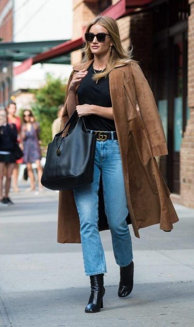 画像: スエードコートでヴィンテージ映画の女優を気取って