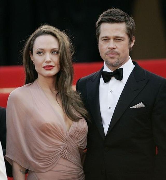 画像: 先週離婚を申請した、アンジェリーナ・ジョリーとブラッド・ピット。