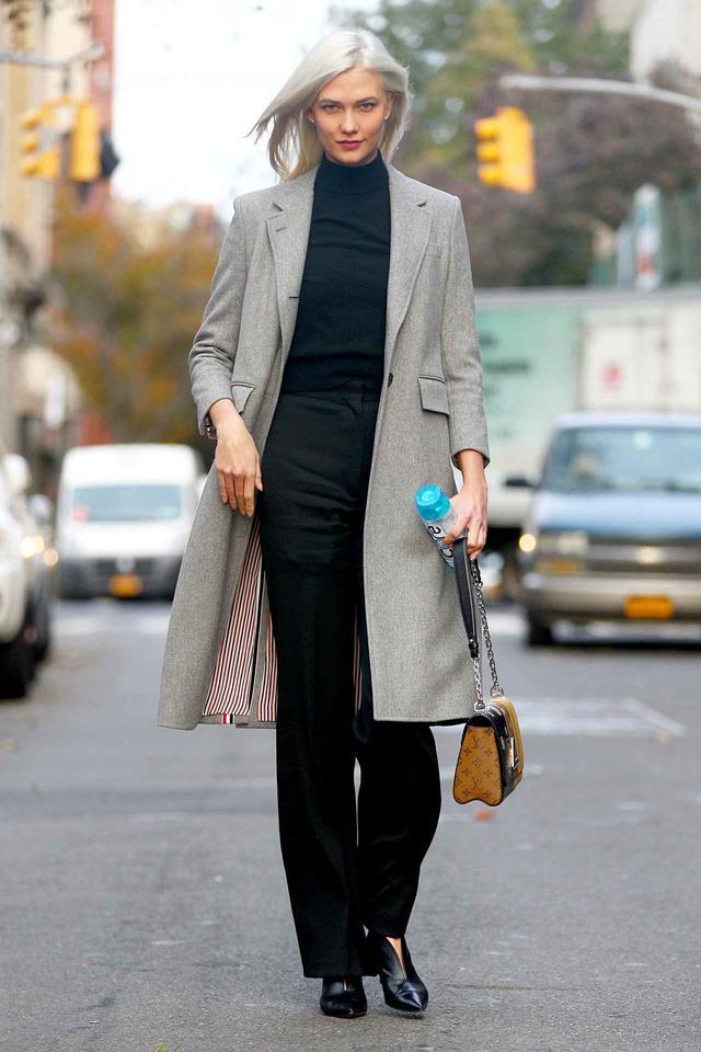 画像1: 人気モデルに学ぶ、「できる女風」に見えるオフィススタイル