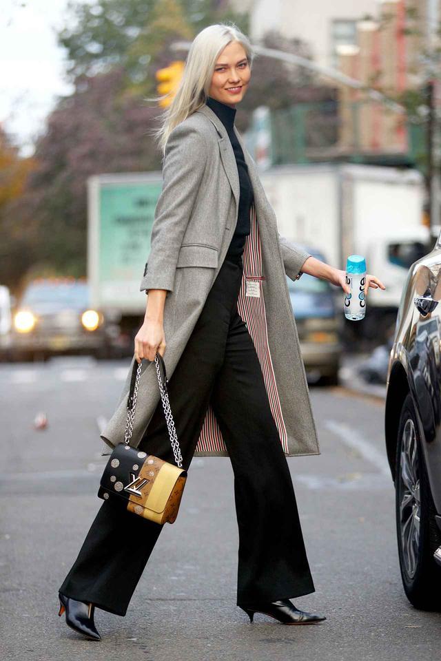 画像2: 人気モデルに学ぶ、「できる女風」に見えるオフィススタイル