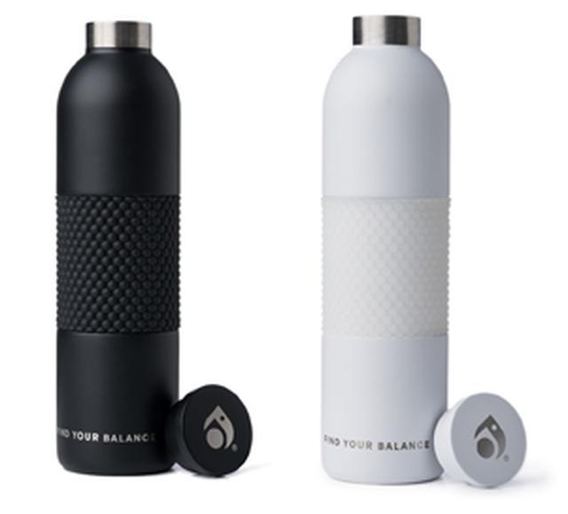 画像: Metal Water Bottle black/white Price ¥6,000