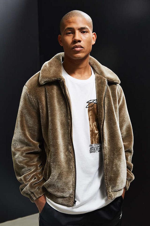 画像: 【Urban Outfitters】Faux Fur Jacket $129 www.urbanoutfitters.com