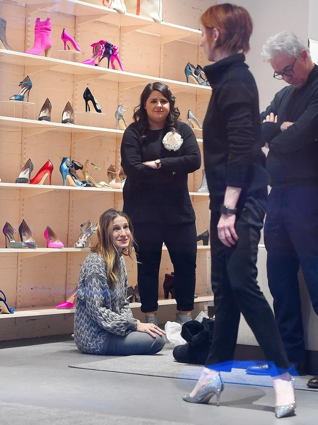 画像4: こんな贅沢ありますか?『SATC』キャリー役女優が全力で一般人の靴選びを手伝う
