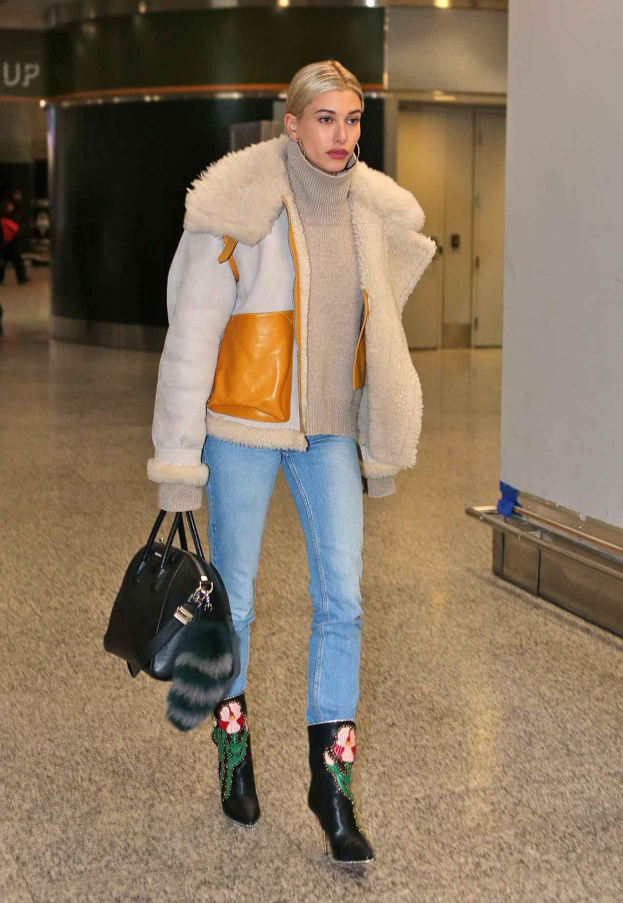 画像: 人気モデルの極寒を乗り切るデニムスタイルを徹底解剖