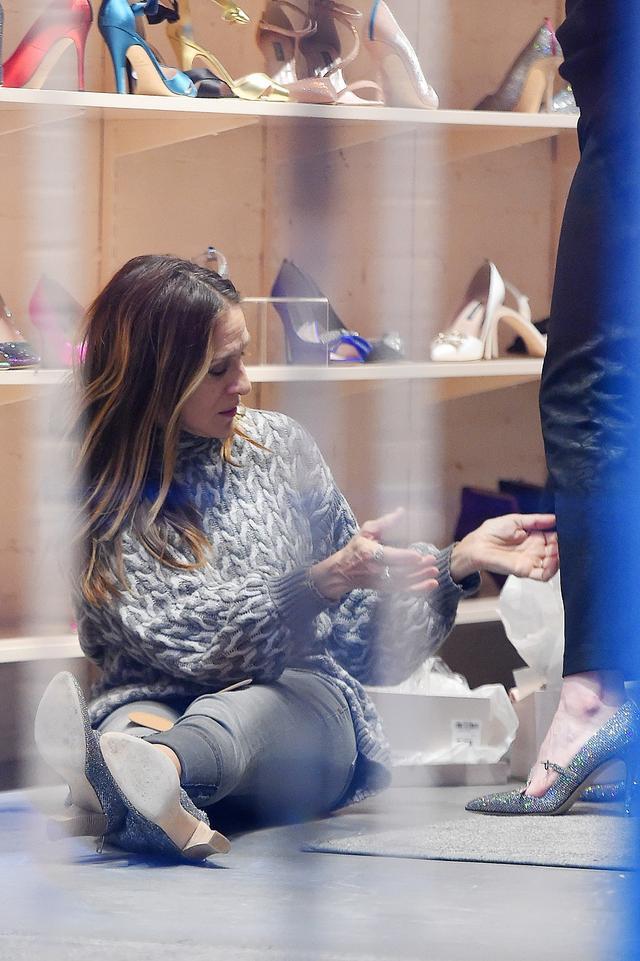 画像3: こんな贅沢ありますか?『SATC』キャリー役女優が全力で一般人の靴選びを手伝う