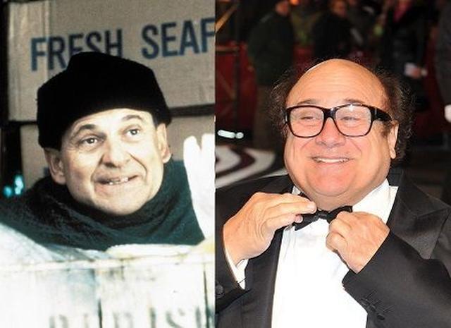 画像: 劇中のジョー・ペシ(左)と、キャスティング候補にあがっていたダニー・デヴィード(右)