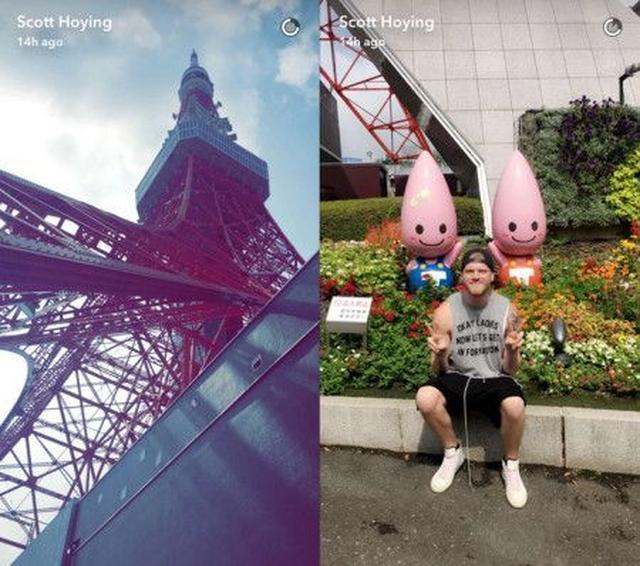 画像3: メンバーたちはすでに日本を楽しんでいる!