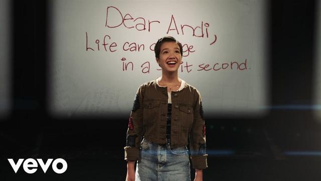 画像: Sabrina Carpenter - Tomorrow Starts Today (Andi Mack Theme Song) (Official Video) www.youtube.com