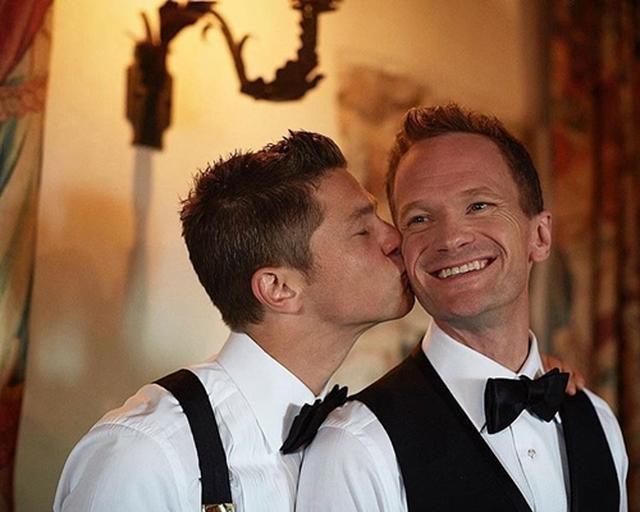 画像: 結婚記念日に投稿された写真。Instagram/ Neil Patrick Harris