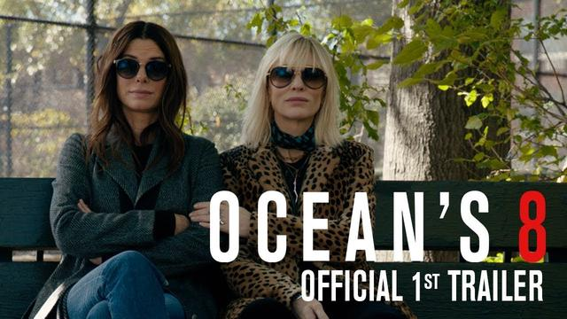 画像: OCEAN'S 8 - Official 1st Trailer youtu.be
