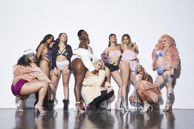画像: 修正一切なし!体の多様性を表現した有名ブランドのキャンペーンに称賛の声
