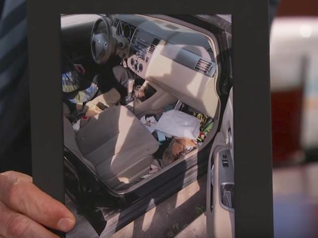 画像1: 車の中から出てきたものとは?