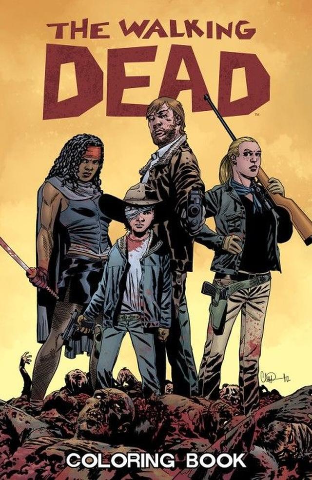 画像: The Walking Dead Coloring Book ¥1,651
