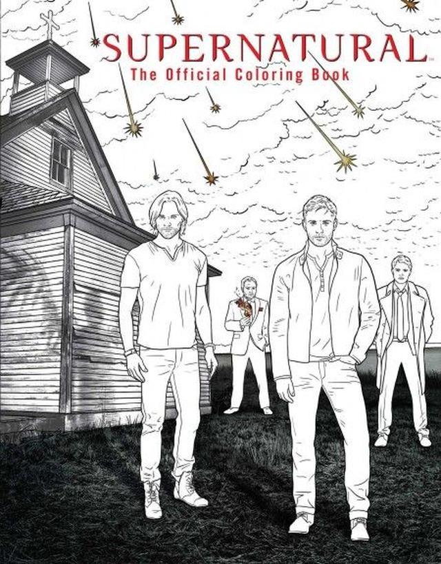 画像: Supernatural The Official Coloring Book ¥1,801