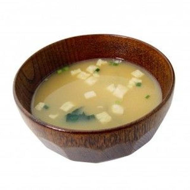 画像: 1. 味噌汁/味噌