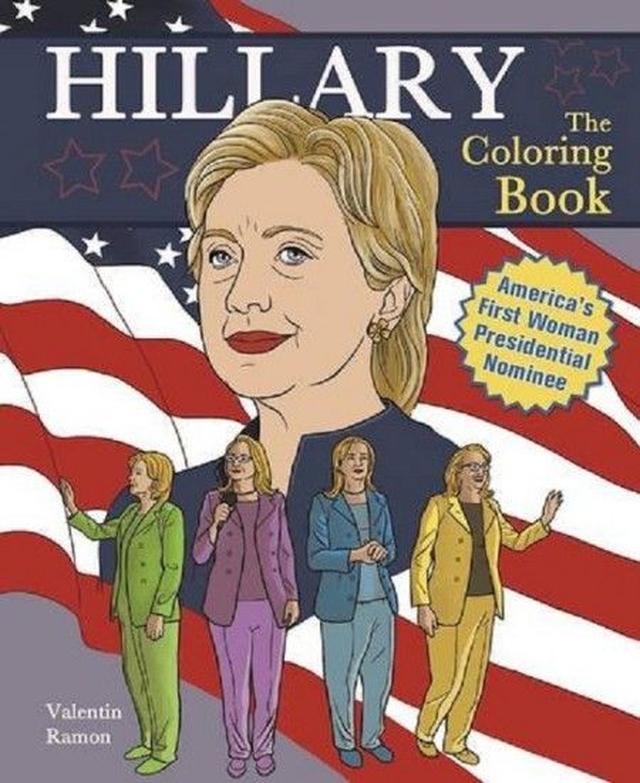 画像: Hillary: The Coloring Book ¥1,102