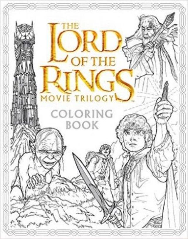 画像: The Lord Of The Rings Movie Trilogy Coloring Book ¥1,723