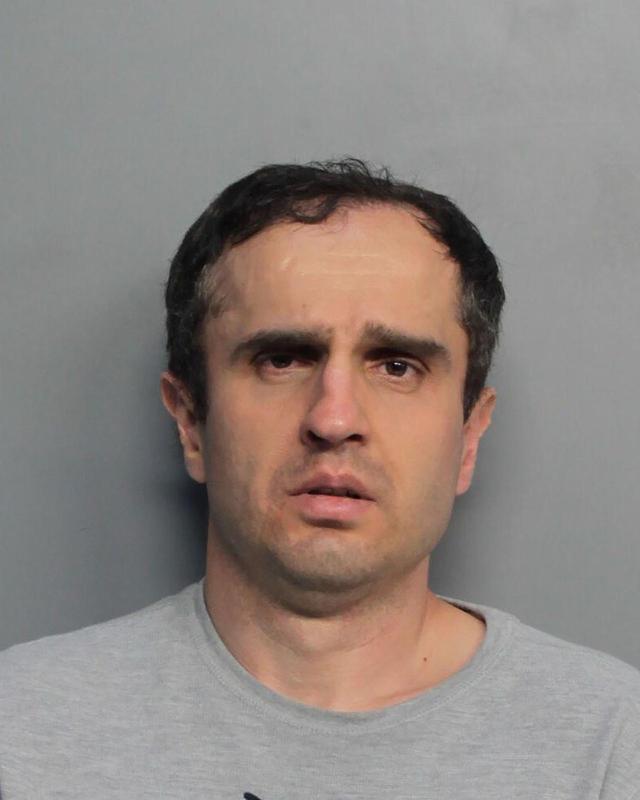 画像: 男の逮捕写真。