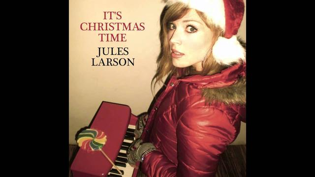 画像: Jules Larson - It's Christmas Time www.youtube.com