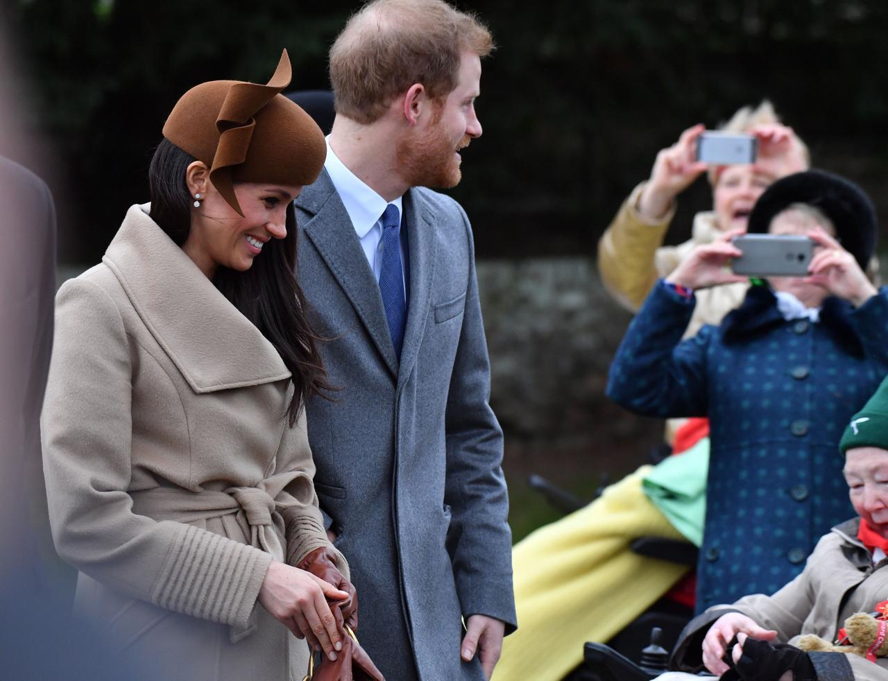 画像5: キャサリン妃とのショットも!ヘンリー王子の婚約者メーガン、英王室の恒例行事に参加