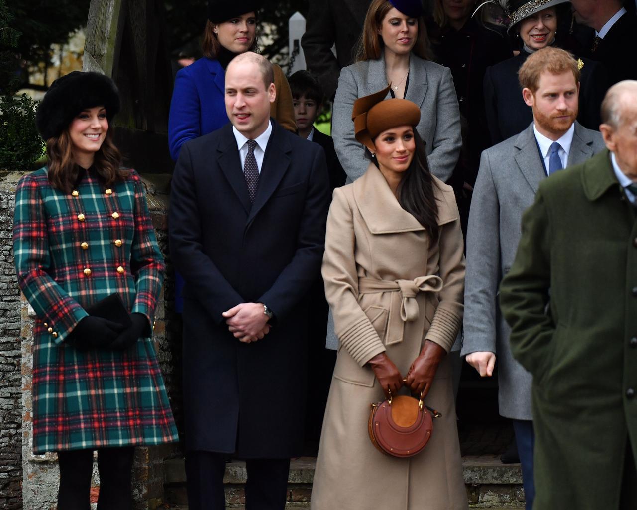 画像1: キャサリン妃とのショットも!ヘンリー王子の婚約者メーガン、英王室の恒例行事に参加