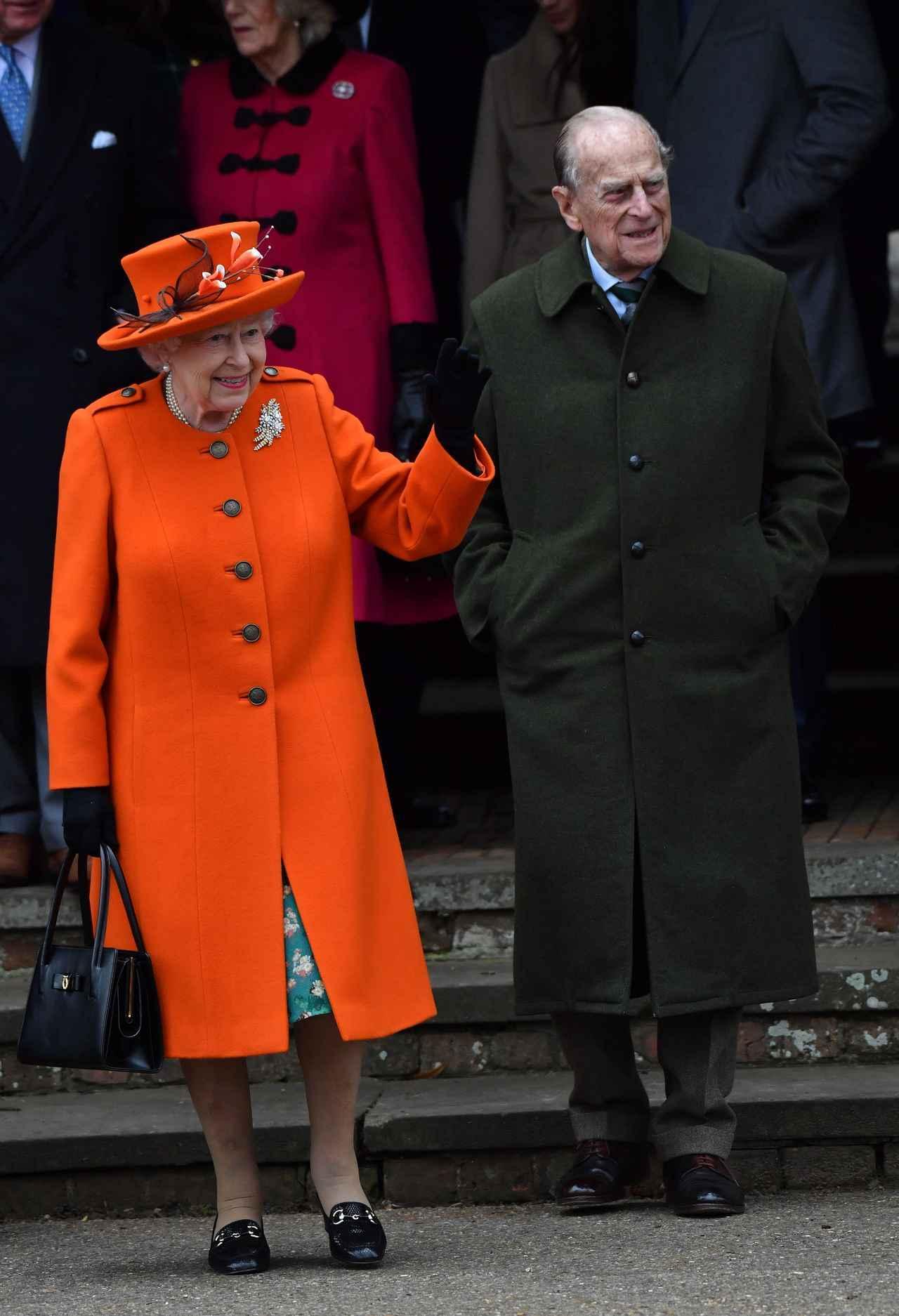 画像4: キャサリン妃とのショットも!ヘンリー王子の婚約者メーガン、英王室の恒例行事に参加