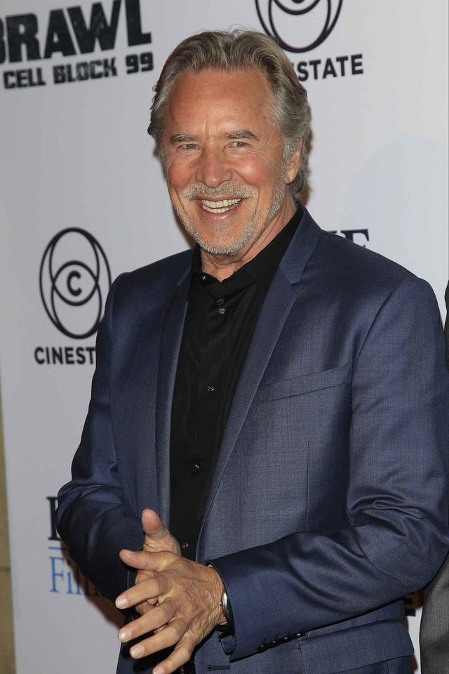 画像: ダコタの父親で俳優のドン・ジョンソン。