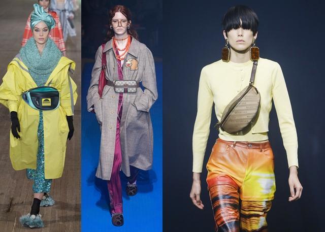 画像: 左から:Marc Jacobs, Gucci, Balenciaga