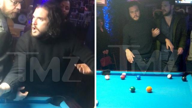 画像: 'Game of Thrones' Star Kit Harrington Drunk and Disorderly During Pool Game www.youtube.com