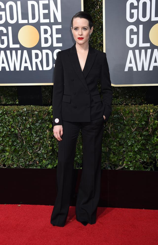 画像13: 第75回ゴールデン・グローブのファッション速報!レッドカーペットは黒一色